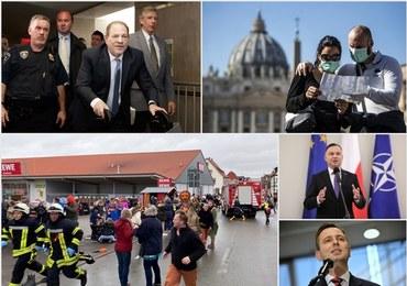 """Sondaż prezydencki dla """"DGP"""" i RMF FM. Przerażające sceny podczas parady w Niemczech [PODSUMOWANIE DNIA]"""