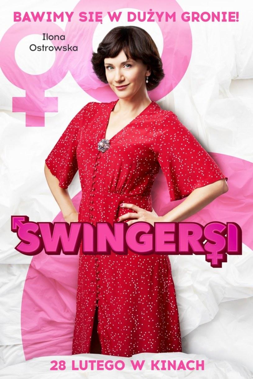 """W filmie """"Swingersi"""" Ilona Ostrowska wciela się w księgową, która ma dość nudy w sypialni i wpada na brawurowy pomysł, który ma urozmaicić jej życie intymne. Ale prywatnie aktorka jest zwolenniczką mniej radykalnych rozwiązań."""