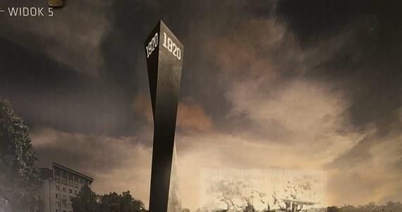 Jest zwycięski projekt pomnika, który upamiętni Bitwę Warszawską 1920 roku! Stanie na stołecznym placu Na Rozdrożu. Ma kosztować około 3 mln złotych.