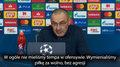Liga Mistrzów. Maurizio Sarri: We Włoszech dostalibyśmy dwa rzuty karne. Wideo