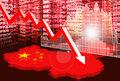 Indeksy PMI dla przemysłu i usług w Chinach w lutym rekordowo niskie