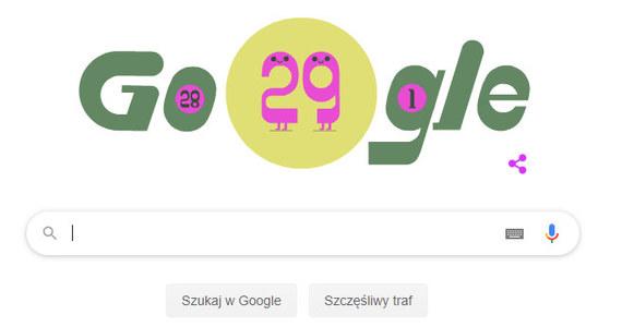 Rok przestępny w Google Doodle. Czy 29 lutego jest pechowy? - RMF 24