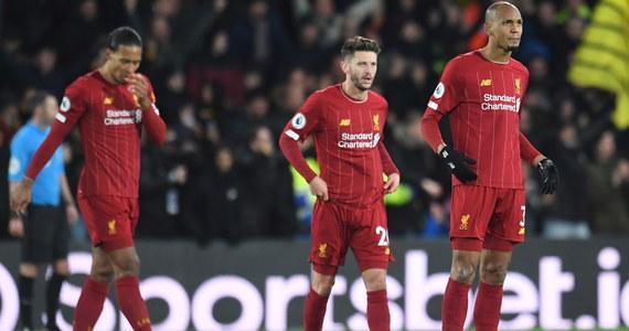 """Po 44 spotkaniach bez porażki w lidze angielskiej piłkarze Liverpoolu ulegli na wyjeździe Watfordowi 0:3. """"The Reds"""" wygrali 18 poprzednich meczów, ale w starciu z przedostatnią drużyną w tabeli zaprezentowali się słabo."""