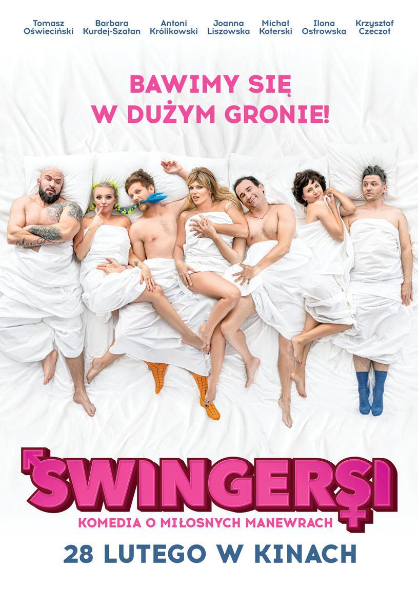 """Komedia """"Swingersi"""" w miniony weekend ściągnęła do kin ponad 141 tysięcy widzów i zajęła pierwsze miejsce wśród polskich filmów w zestawieniu box office - poinformował dystrybutor obrazu Mówi Serwis."""