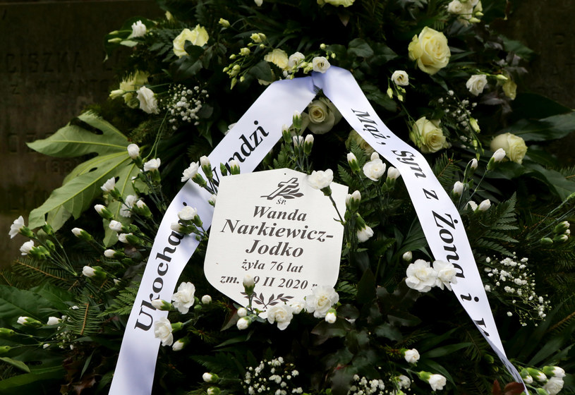 W środę, 4 marca w Warszawie odbył się pogrzeb Wandy Narkiewicz-Jodko (Borkowskiej). Wokalistka grupy Alibabki zmarła 19 lutego w wieku 76 lat.
