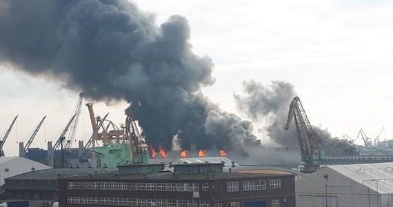 Przez kilka godzin walczyli strażacy z potężnym pożarem w porcie w Gdyni. Początkowo zapaliła się wieża magazynowa w Bałtyckim Terminalu Zbożowym, później ogień objął cały magazyn. Po południu pożar ugaszono. Nikt w nim nie ucierpiał.