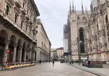 Polski ksiądz pracujący w Mediolanie: Puste ulice, niesamowita cisza. Nie można odprawiać pogrzebów