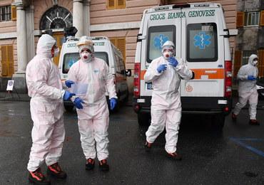 Ponad 1200 ofiar koronawirusa we Włoszech