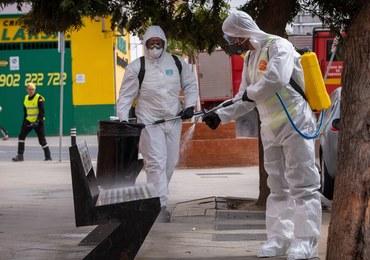 Pandemia koronawirusa w Hiszpanii. W ciągu doby zmarło tam ponad 200 osób