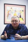 """Wojciech Mann i Piotr Bukartyk razem. Piosenka """"Szpachlowa gładź"""" Duetu Egzotycznego Bukman [TEKST]"""