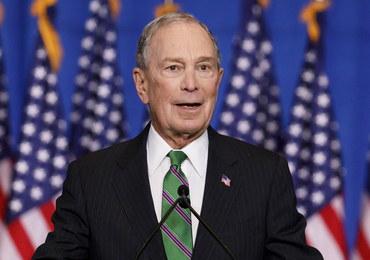 Bloomberg przekaże 18 mln dolarów na kampanię demokratów