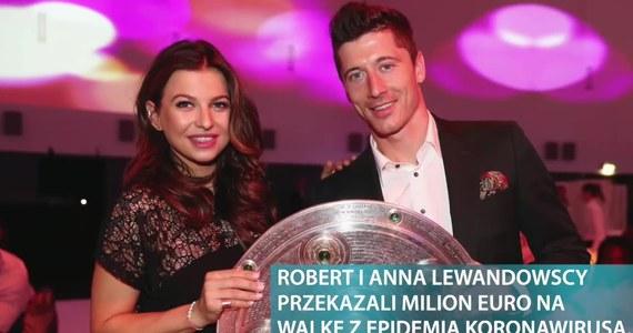 Anna i Robert Lewandowscy zaangażowali się w zwalczanie epidemii koronawirusa. W poniedziałek wyszły na jaw szczegóły akcji i dokładne przeznaczenie funduszy.