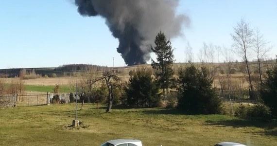 1,2 mln zł strat - tak wstępnie strażacy szacują skutki poniedziałkowego pożaru w Mokrzeszu w Śląskiem. Walka z ogniem trwała ponad 13 godzin.