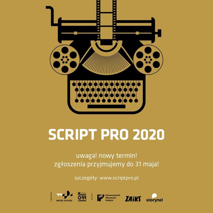 W związku z trudną sytuacją w kraju, związaną z pandemią koronawirusa, termin nadsyłania prac na konkurs scenariuszowy Script Pro 2020 został przedłużony do 31 maja.