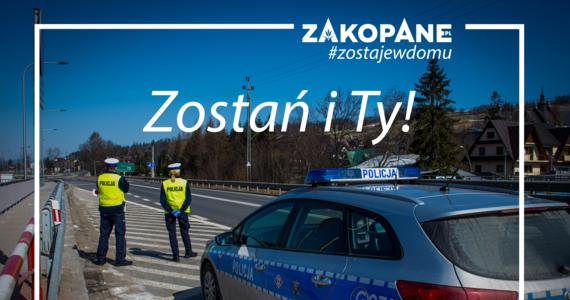 Przy wjeździe do Zakopanego pojawiły się patrole policyjne. Funkcjonariusze kontrolują wszystkie samochody, które nie mają lokalnych numerów rejestracyjnych. Sprawdzają, czy nie jest łamany zakaz przemieszczania się. Chodzi o powstrzymanie osób, które mimo wprowadzonych ograniczeń, będą chciały spędzić weekend w górach. Obostrzenia będą też obowiązywały nad morzem.