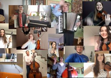 """Muzyka ludowa ku pokrzepieniu serc. Artyści z """"Jawora"""" nagrali """"Poleczkę lubelską"""""""