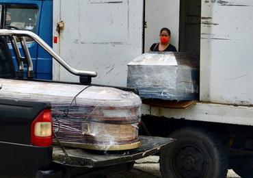 Ciała na ulicach i przed szpitalami. Dramatyczna sytuacja w Ekwadorze