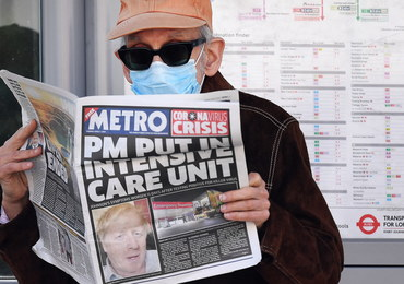 Nowy komunikat Downing Street ws. zdrowia Borisa Johnsona