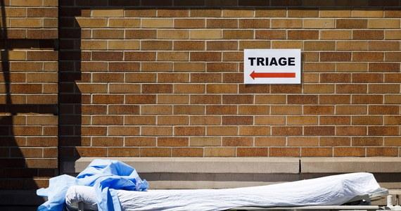 Gubernator stanu Nowy Jork Andrew Cuomo podał, że w jego stanie w ciągu ostatniej doby z powodu Covid-19 zmarło 731 osób. To najwyższa dobowa liczba zgonów na Covid-19 w Nowym Jorku. Łączna liczba ofiar śmiertelnych epidemii w stanie to 5489.