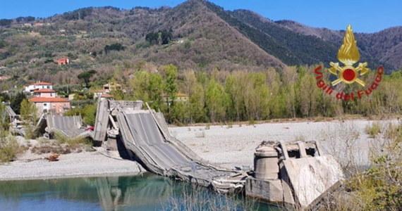 W północnych Włoszech zawalił się most na zwykle ruchliwej drodze w pobliżu miasta Aulla.