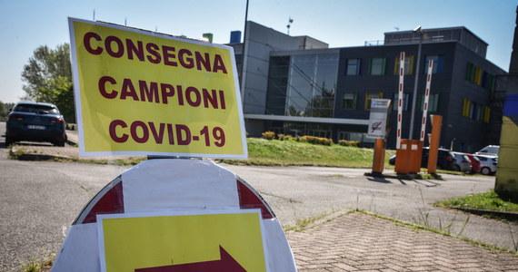 We Włoszech w ciągu ostatniej doby odnotowano śmierć 619 osób zakażonych koronawirusem - poinformowała w sobotę Obrona Cywilna. Łączny bilans zmarłych od początku epidemii w lutym wzrósł do 19 468.