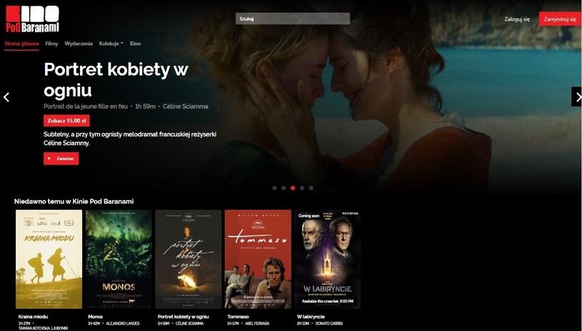12 kwietnia krakowskie Kino Pod Baranami otworzyło swoje sale w internecie. To pierwsze wirtualne kino w Polsce. Na platformie streamingowej kina znajdą się starannie wyselekcjonowane tytuły, odbywać się będą pokazy specjalne oraz seanse z dyskusjami online.