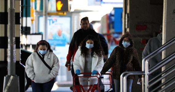 606 osób zakażonych koronawirusem zmarło w ciągu ostatniej doby w stanie Nowy Jork - poinformował gubernator Andrew Cuomo. Łączna liczba ofiar śmiertelnych Covid-19 w tym stanie to 12192.