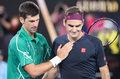 Tenis. Novak Djoković: Federer jest najlepszym tenisistą wszechświata