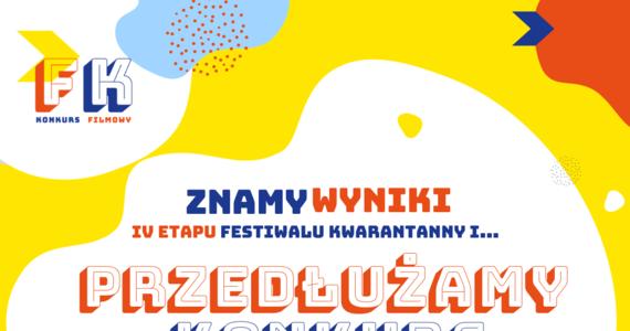 Za nami IV etap konkursu Festiwal Kwarantanny! W ubiegłym tygodniu otrzymaliśmy kilkadziesiąt zgłoszeń od przedszkolaków i uczniów z Krakowa, a jury zdecydowało się nagrodzić aż 18 z nich. Dodatkowo Urząd Miasta Krakowa ma świetne wieści dla uczniów, którzy nie zdążyli wziąć udziału w zabawie - konkurs zostaje przedłużony do końca kwietnia.