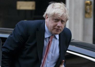 Boris Johnson wrócił już na Downing Street