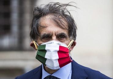 Koronawirus we Włoszech. Poprawia się sytuacja w kraju