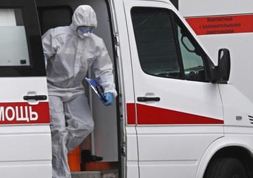 Koronawirus w Rosji. Rekordowa liczba nowych zakażeń