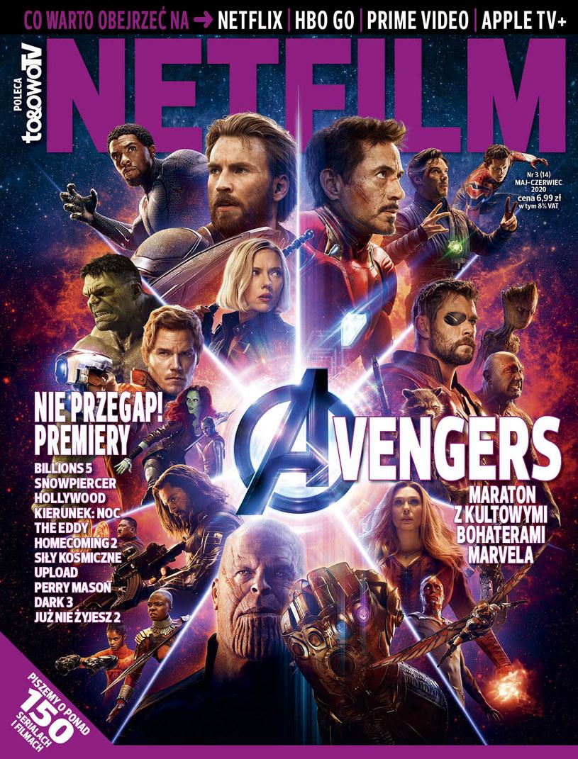 W trzecim w 2020 roku numerze magazynu NETFILM (w sprzedaży od 5 maja) znajdziecie recenzje i opisy ponad 140 filmów i seriali dostępnych w ofercie Netfliksa, HBO GO, Amazon Prime Video i Apple TV+.