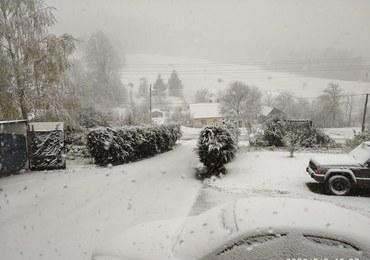 Śnieg w maju. Najbliższe dni chłodne i z opadami [ZDJĘCIA]