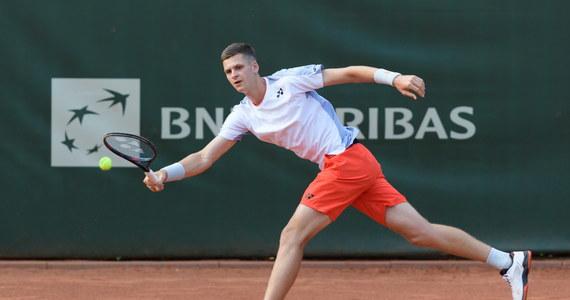 Hubert Hurkacz zajął trzecie miejsce w turnieju pokazowym na Florydzie. W meczu, którego stawką była ta pozycja, polski tenisista pokonał Amerykanina Tommy'ego Paula 4:1, 0:4, 4:1.