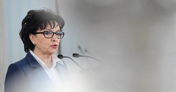 """Marszałek Sejmu Elżbieta Witek zapowiedziała, że w ciągu 14 dni od opublikowania w Dzienniku Ustaw uchwały Państwowej Komisji Wyborczej ws. wyborów prezydenckich z 10 maja """"z pewnością ogłosi"""" nowy termin głosowania."""