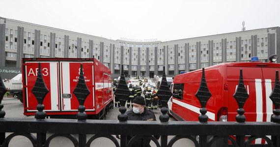 Pożar w szpitalu w Petersburgu w Rosji. Zmarło pięciu pacjentów – wszyscy byli zakażeni koronawirusem i przebywali na oddziale intensywnej terapii.