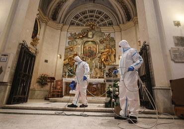 W Rzymie zaczęli dezynfekcję kościołów przed powrotem wiernych