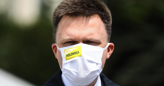 Platforma Obywatelska dużo ryzykuje, dokonując zmiany kandydata na prezydenta; może zostać ograna przez PiS - ocenił w czwartek Szymon Hołownia w Polsat News. Według niego politycy PO zachowują się nieelegancko w stosunku do Małgorzaty Kidawy-Błońskiej.