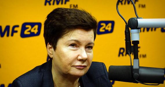 """Marcin Zaborski zapytał swojego gościa o to, co sądzi o zmianie kandydata KO na prezydenta Polski.  """"Uważam, że Małgorzata Kidawa-Błońska została jednak trochę instrumentalnie potraktowana. Uważam, że tę kampanię można było podnieść"""" – komentowała Gronkiewicz-Waltz. Pytana o to, czy Rafał Trzaskowski został wybrany po to, żeby realnie wygrać wybory, czy przegrać z honorem, przekonywała: """"Trzeba walczyć zawsze. Ważny jest entuzjazm, i zapał. Mam wrażenie, że Andrzej Duda już nie ma takiego zapału, jak 5 lat temu""""."""