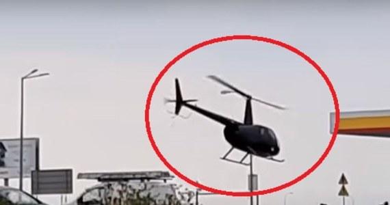 Policjanci wyjaśniają okoliczności nietypowego lądowania śmigłowca w Garwolinie na Mazowszu. Pilot wylądował na stacji paliw, zatankował paliwo i po zapłaceniu rachunku odleciał.
