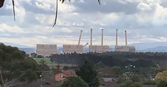 Wyburzono osiem 137-metrowych kominów wycofanej z eksploatacji elektrowni Hazelwood w mieście Churchill na południowym-wschodzie Australii. Obiekt został zamknięty w marcu 2017 r. po ponad 50 latach działalności.