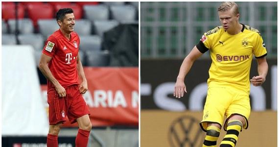 Wtorkowy mecz Borussii Dortmund z Bayernem Monachium w niemieckiej Bundeslidze ma wiele aspektów, ale jeden szczególnie przyciąga uwagę - oczy ekspertów i kibiców skierowane będą na linię ataku, gdzie dojdzie do pojedynku Roberta Lewandowskiego z Erlingiem Haalandem.