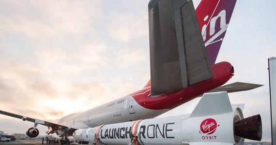 Należąca do brytyjskiego miliardera Richarda Bransona firma Virgin Orbit nie zdołała umieścić na orbicie okołoziemskiej rakiety wystrzelonej z samolotu. Zapowiedziano szybkie podjęcie nowej próby.