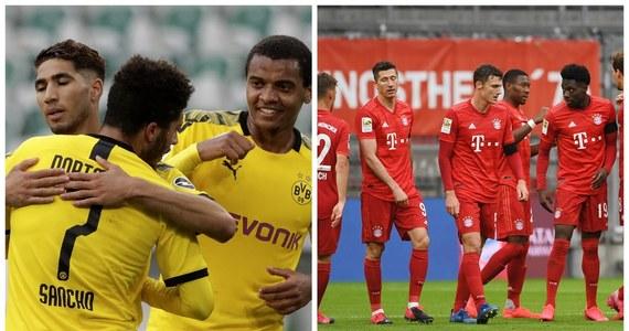 Odkąd Bundesliga wróciła do gry, obie drużyny odniosły po dwa zwycięstwa i imponowały skutecznością. W tabeli dzielą je zaledwie cztery punkty. Teraz Borussia stanie przed szansą, by zniwelować przewagę Bayernu. Pierwszy gwizdek o 18:30.