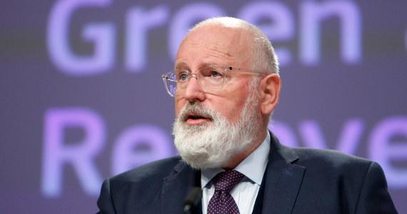 Wiceszef KE Frans Timmermans poinformował w Brukseli, że gaz ziemny będzie odgrywał pewną rolę w transformacji Unii Europejskiej w kierunku neutralności klimatycznej. Podkreślił, że KE podtrzymuje swój cel osiągnięcia neutralności klimatycznej do 2050 roku.