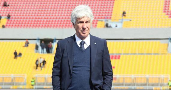 Trener piłkarzy Atalanty Bergamo Gian Piero Gasperini przyznał, że był zarażony koronawirusem w dniu spotkania Ligi Mistrzów z Valencią, czyli 10 marca. Włoski klub wygrał w Hiszpanii 4:3, w dwumeczu 8:4 i awansował do ćwierćfinału.