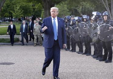 Donald Trump: Mobilizuję wszystkie możliwe federalne siły cywilne i wojskowe
