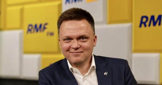 """""""Prezydent nie jest rządem, prezydent jest od tego, żeby spróbować zbudować większość w czegoś, co powinno być elementem większego obrazka w Polsce"""" - mówił kandydat na prezydenta Szymon Hołownia w Popołudniowej rozmowie w RMF FM. """"Jeżeli nie wyznaczymy sobie konkretnych celów i konkretnych punktów dojścia, to będziemy się kręcić wokół pojęć, wokół których kręcimy się od dawna. Wyznaczmy sobie cel"""" – przekonywał gość Marcina Zaborskiego. """"Jestem zwolennikiem tezy, że nie należy teraz ruszać tej ustawy, ani w lewo ani w prawo. I jedno i drugie rozwiązanie zawetowałbym"""" – mówił w Popołudniowej rozmowie w RMF FM Szymon Hołownia pytany o to, jakie ma zdanie w sprawie zaostrzenia ustawy aborcyjnej."""