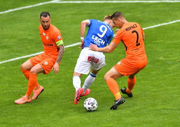 Ekstraklasa piłkarska: Zagłębie - Lech 3:3